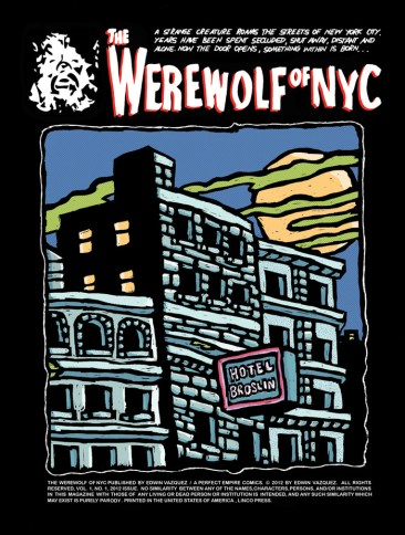 Werewolf of NYC 1