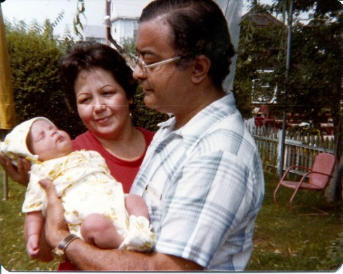 Mom, Dad, and Baby Me. This is the thinnest I've ever been. 1979.