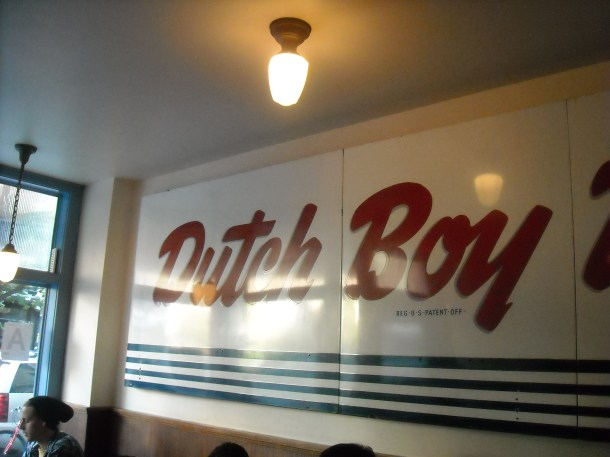 Dutch Boy Burger in Crown Heights, BK.