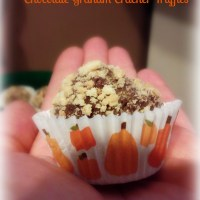 Chocolate Graham Cracker Truffles