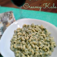 Pasta With Creamy Kale