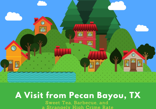 Pecan Bayou Post Card