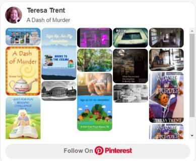 A Dash of Murder Pinterest Board