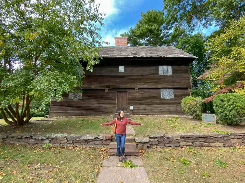 Buttolph-Williams House. Old Wethersfield, CT. The Witch of Blackbird Pond