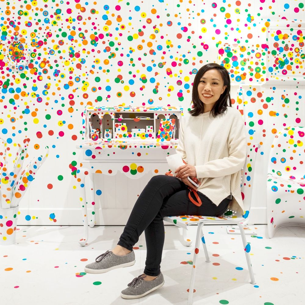 Teresa Yea author Yayoi Kusama Obliteration Room at The Broad Museum