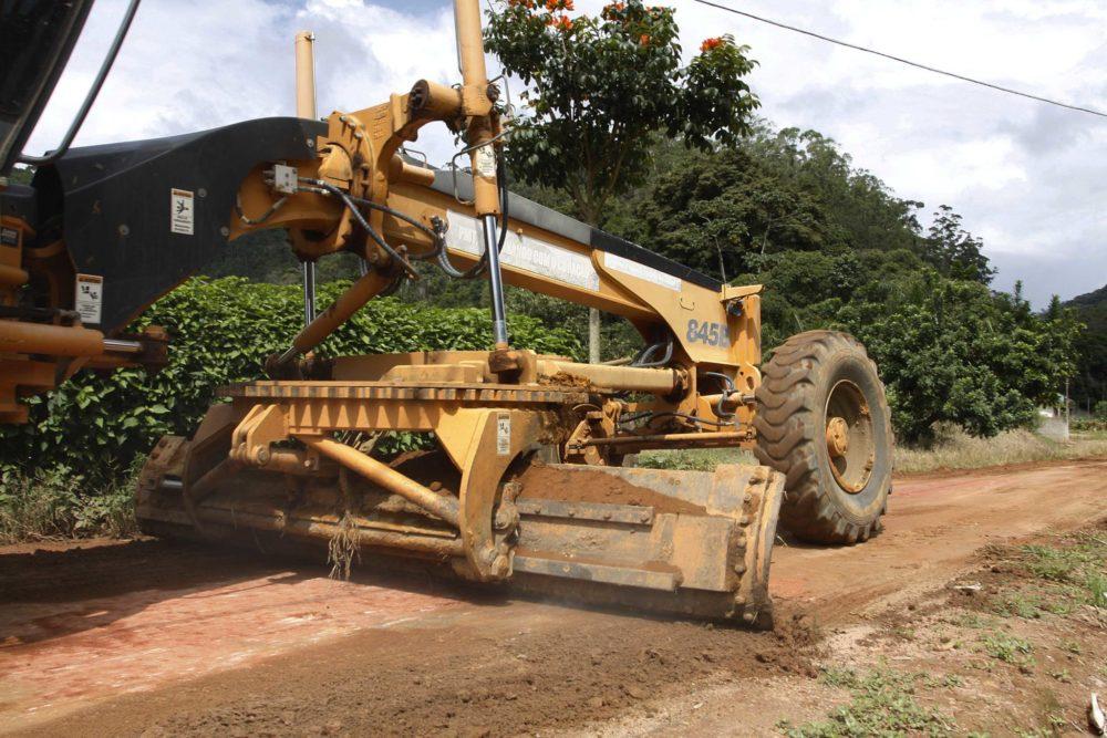 Secretaria de Agrucultura: Estradas são recuperadas no interior