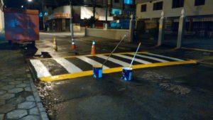 Sinalização de Trânsito: Prefeitura segue com operação nas principais vias