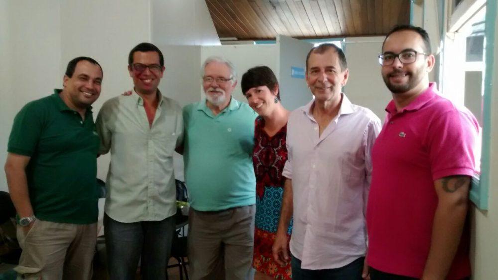 Secretário de Turismo recebe guias turísticos de Teresópolis