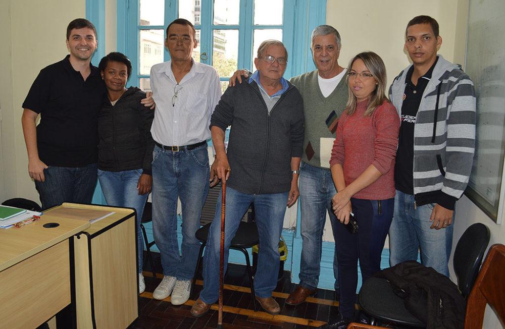 Pacientes da hemodiálise são recebidos pelo Governo Municipal