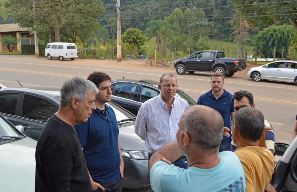 Presidente do DER faz vistorias em ruas e avenidas de Teresópolis