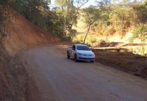 Recuperada mais uma estrada na área rural