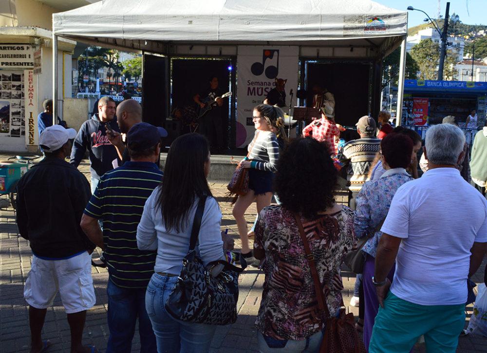 'Semana da Música' começa na Calçada da Fama