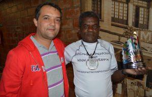 Delino Tomé traz troféu e medalha para Teresópolis