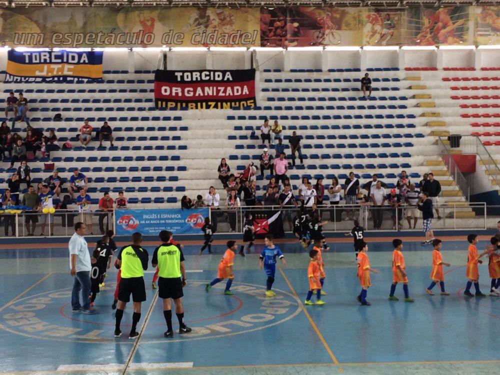 Estadual Futsal Sub-7 tem rodada no Pedrão
