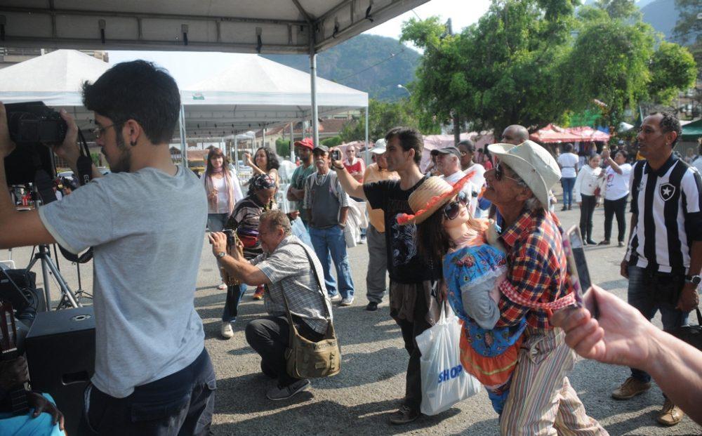 Visitantes da Feirinha do Alto aprovam Cultura de Raiz Itinerante