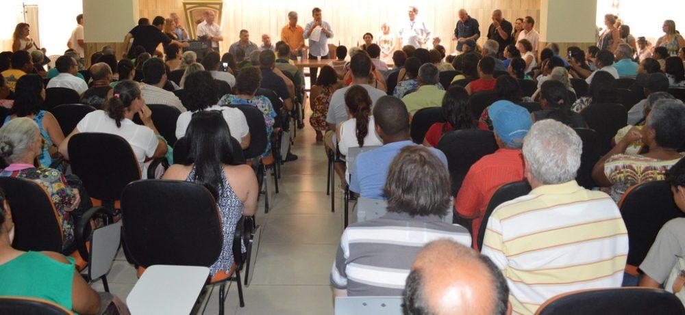 Prefeito Tricano intensifica esforços pela entrega dos apartamentos da Fazenda Ermitage