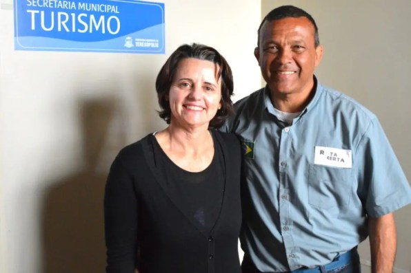 Agentes de viagens Claudia Muniz e Marcos Alfredo, da Rota Certa Ecoturismo: evento com atividades para toda a família
