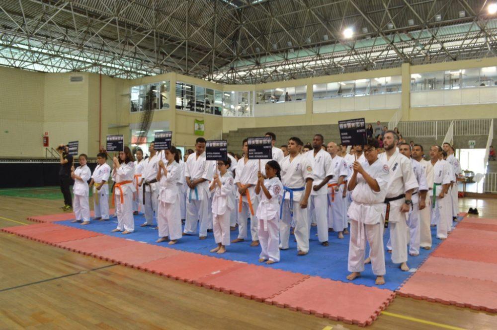 Karate – Campeonato Estadual de Kyokushin Oyama reúne 70 atletas no Comary