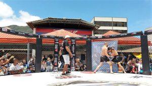 Prévia das lutas do The Coliseum Fight movimenta Feirinha do Alto