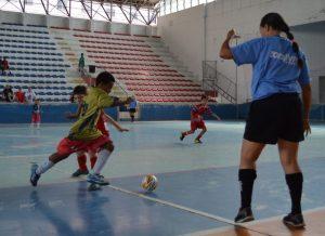 Teresópolis/SMEL X Maria da Graça no Carioca de Futsal
