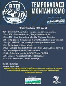 Temporada de Montanhismo 2018 é aberta no Parnaso