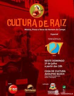 Cultura de Raiz 1º de julho