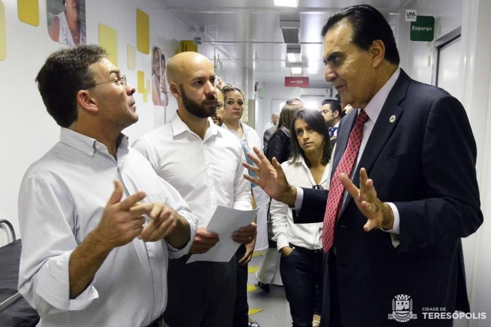 TERESÓPOLIS RECEBE SECRETÁRIO NACIONAL DE SAÚDE