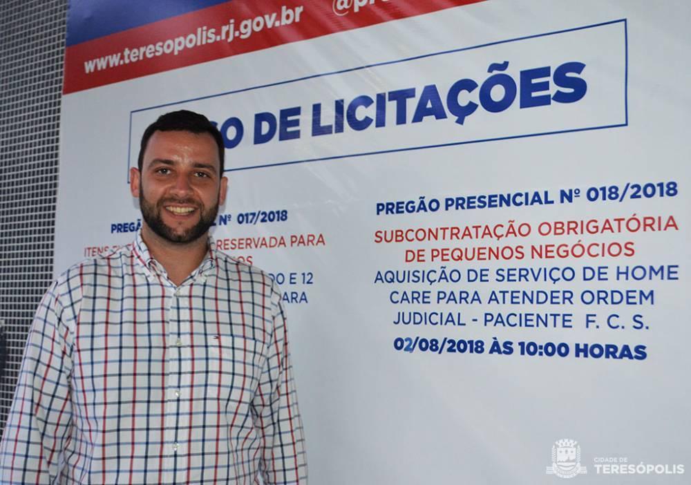 TERESÓPOLIS LANÇA PROGRAMA DE COMPRAS MUNICIPAIS E SISTEMA DE TRANSMISSÃO ONLINE DAS LICITAÇÕES