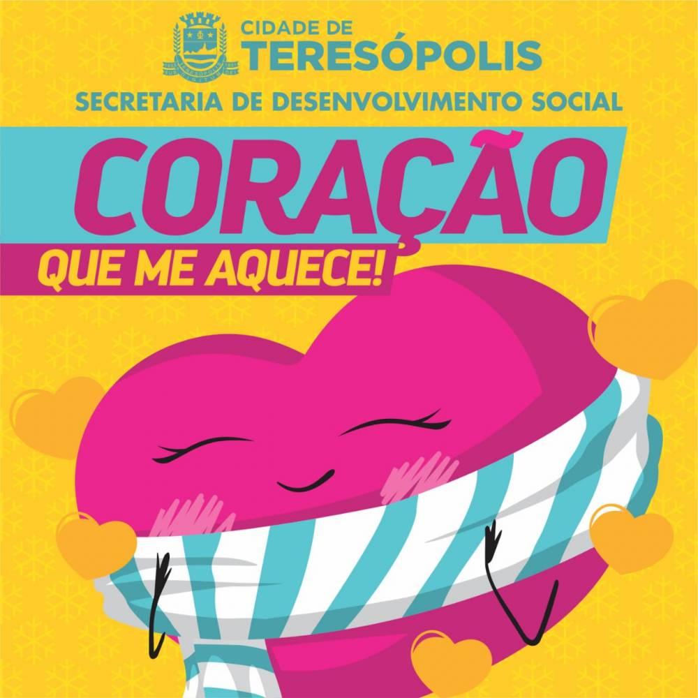 CAMPANHA 'CORAÇÃO QUE ME AQUECE!' COMEÇA NESTA TERÇA-FEIRA