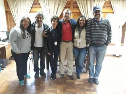 Marcos Jaron, secretário de Trabalho, visita centro de atendimento ao adolescente