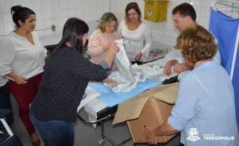Secretaria de Saúde recebe do Rotary Clube Teresópolis equipamento de ponta para tratamento de feridas complexas