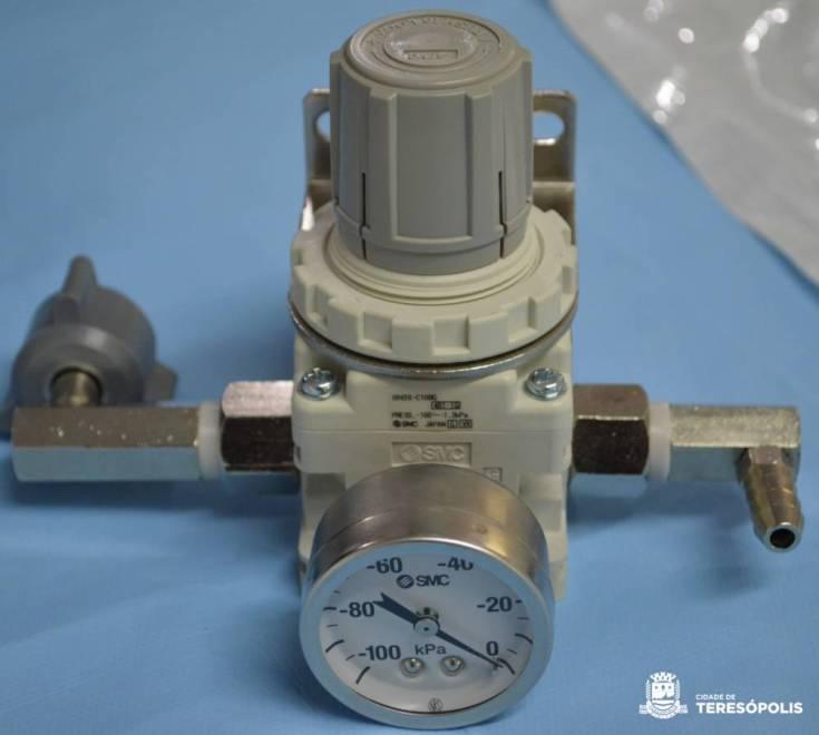 CURAVAC, válvula de cicatrização a vácuo para o tratamento de feridas complexas