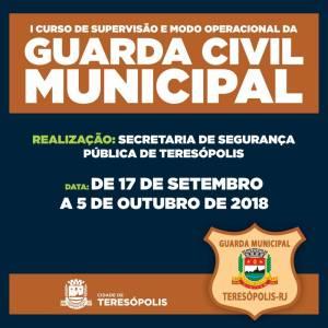 PREFEITURA CAPACITA GUARDAS CIVIS MUNICIPAIS