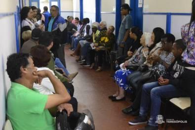 Pacientes aguardam atendimento nas diversas especialidades médicas no Cemusa