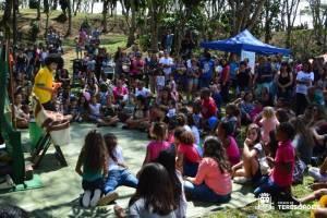 POPULAÇÃO OCUPA O MIRANTE DA COLINA EM DIA DE FESTA PELOS 50 ANOS DE INAUGURAÇÃO