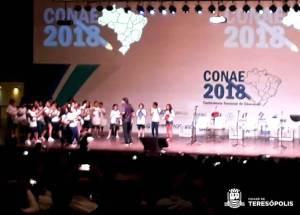 TERESÓPOLIS PARTICIPA DA 3ª CONFERÊNCIA NACIONAL DE EDUCAÇÃO, EM BRASÍLIA