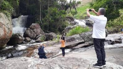 Cachoeira do Vale dos Frades, em Campanha, no interior do município