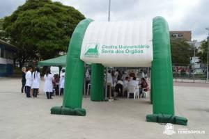 AÇÃO DE SAÚDE PREVENTIVA ATENDE MAIS DE 600 PESSOAS
