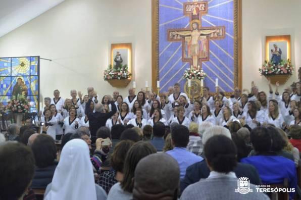 Igreja de Santo Antonio, será um dos palcos das apresentações do Festival Canta Terê novamente
