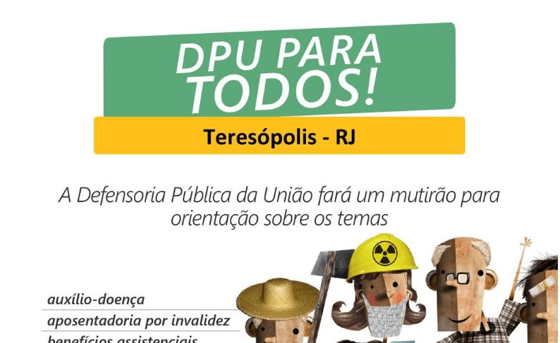 ORIENTAÇÃO JURÍDICA EM AÇÃO SOCIAL DA PREFEITURA E DEFENSORIA PÚBLICA DA UNIÃO