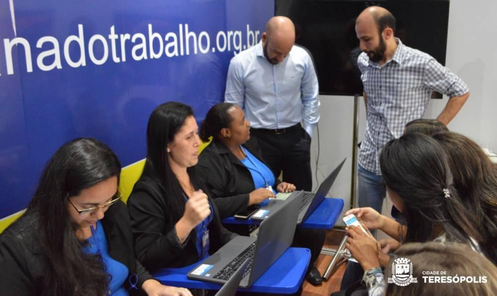 CARRETA DA CARAVANA DO TRABALHO EM TERESÓPOLIS