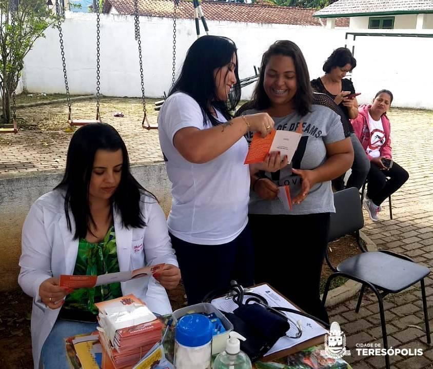 Moradores de Vargem Grande recebem atendimento especial de saúde