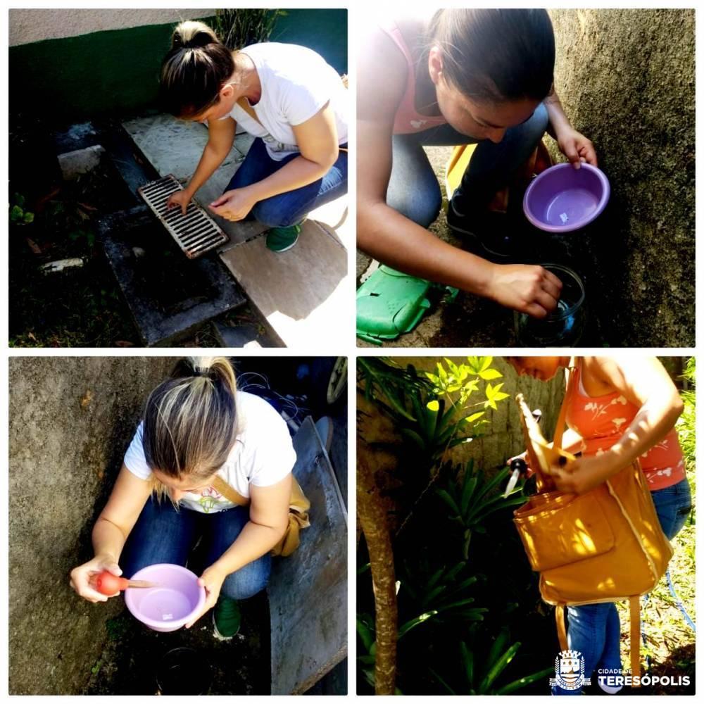 Bairros continuam recebendo ações de prevenção ao mosquito transmissor da dengue, zika, chikungunya e febre amarela