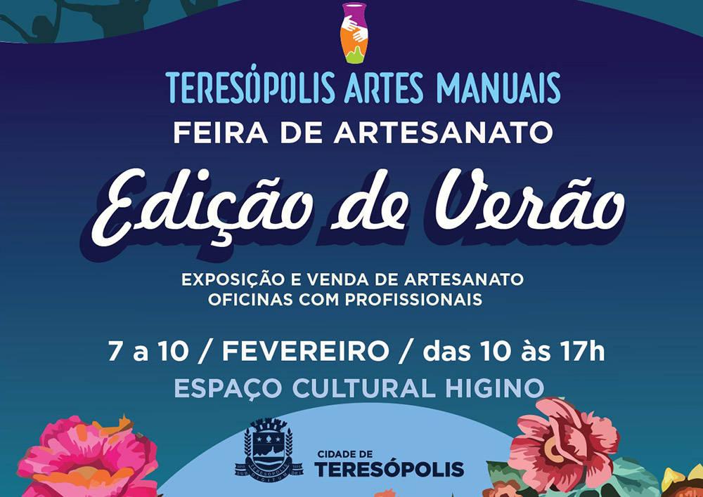 Começa nesta quinta (7) a edição Verão da Feira de Artes Manuais 2019