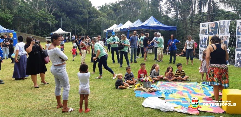 Ação socioambiental movimentou o Jardim Serrano no domingo