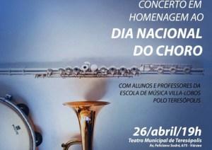 Prefeitura apresenta concerto em homenagem ao Dia Nacional do Choro