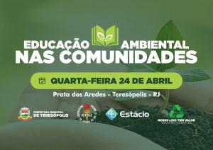 Educação Ambiental nas Comunidades vai até Prata dos Aredes