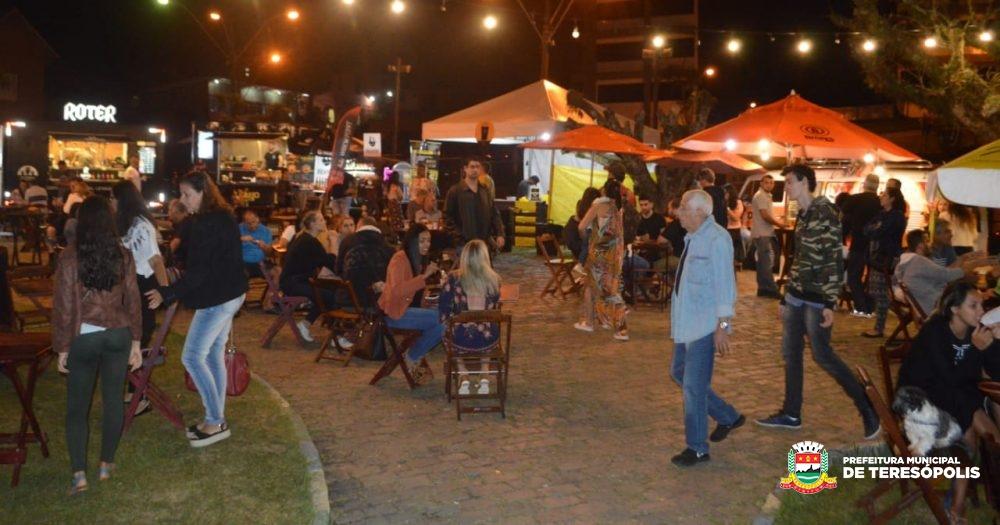 Evento 'Cervejas do Nilo' atrai grande público e movimenta a cidade durante todo o feriadão