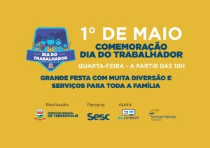 1º de maio: Trabalhador de Teresópolis terá dia de comemoração na Praça Olímpica