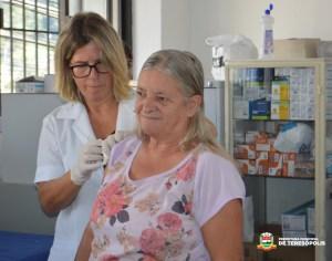 Com 'Dia D', campanha de vacinação contra gripe ultrapassa 50% da meta em Teresópolis